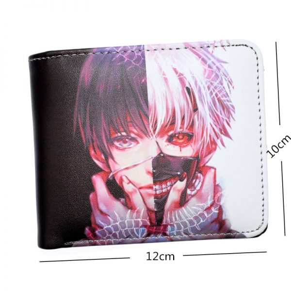 Anime Tokyo Ghoul Death Note Short Wallet With Coin Pocket Money Bag for Men Women 2 - Tokyo Ghoul Merch Store