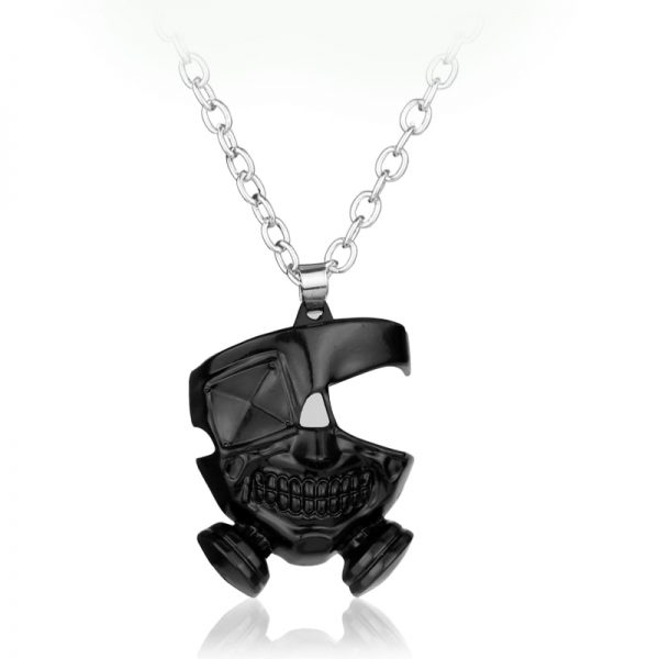 Anime Tokyo Ghoul Necklace Kanek Ken Cosplay Pendant Necklace Long Chain Accessories Men Halloween Gifts - Tokyo Ghoul Merch Store