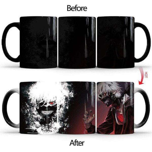Drop Shipping 1Pcs New 350ml Tokyo Ghoul Magic Color Changing Mugs Ceramic Coffee Milk Tea Cups 1.jpg 640x640 1 - Tokyo Ghoul Merch Store