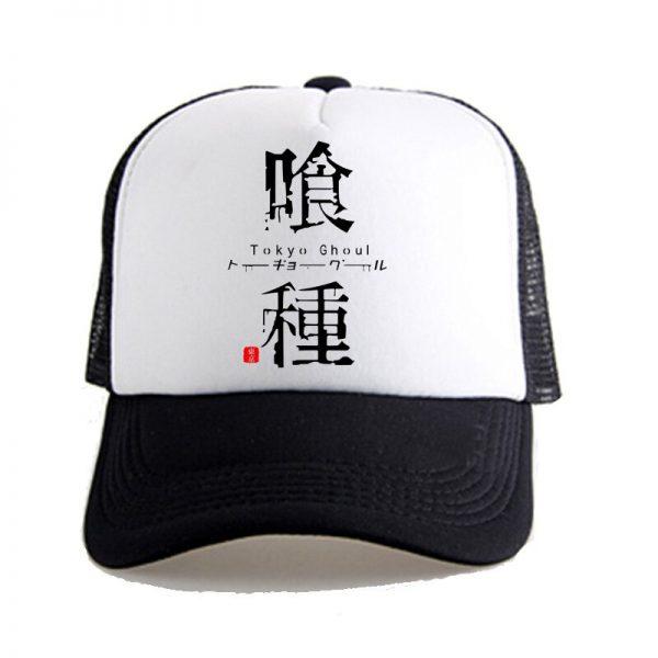 Tokyo Ghoul Kaneke Ken Anime Women Men Boys Girls Hat Baseball Mesh Cap Cosplay 1 2 - Tokyo Ghoul Merch Store