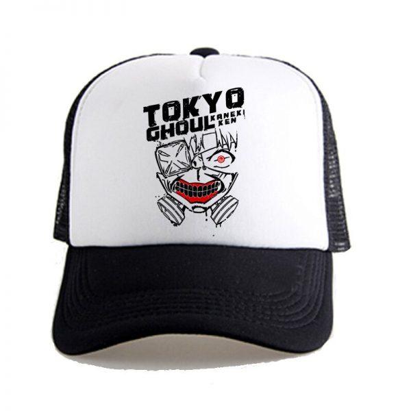 Tokyo Ghoul Kaneke Ken Anime Women Men Boys Girls Hat Baseball Mesh Cap Cosplay 4 - Tokyo Ghoul Merch Store