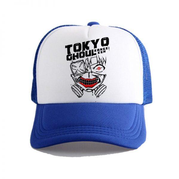 Tokyo Ghoul Kaneke Ken Anime Women Men Boys Girls Hat Baseball Mesh Cap Cosplay 5 - Tokyo Ghoul Merch Store