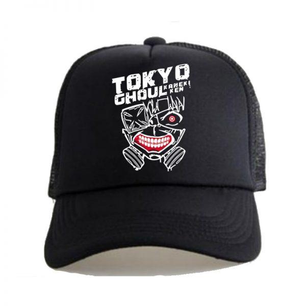 Tokyo Ghoul Kaneke Ken Anime Women Men Boys Girls Hat Baseball Mesh Cap Cosplay - Tokyo Ghoul Merch Store