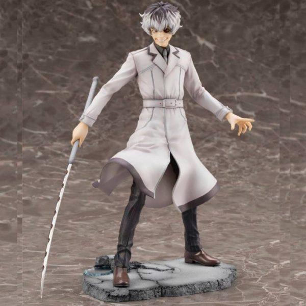 22cm Anime Tokyo Ghoul figures Kaneki Ken Haise Sasaki 1 8 Scale Pre painted Figure Statue 1 - Tokyo Ghoul Merch Store