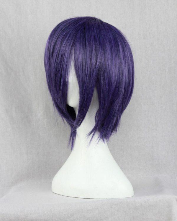 Anime Tokyo Ghoul Touka Kirishima Wig Kirishima Toka Short Purple Hair Halloween Party Cosplay Wigs Wig 2 - Tokyo Ghoul Merch Store