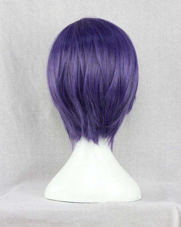 Anime Tokyo Ghoul Touka Kirishima Wig Kirishima Toka Short Purple Hair Halloween Party Cosplay Wigs Wig 3 - Tokyo Ghoul Merch Store