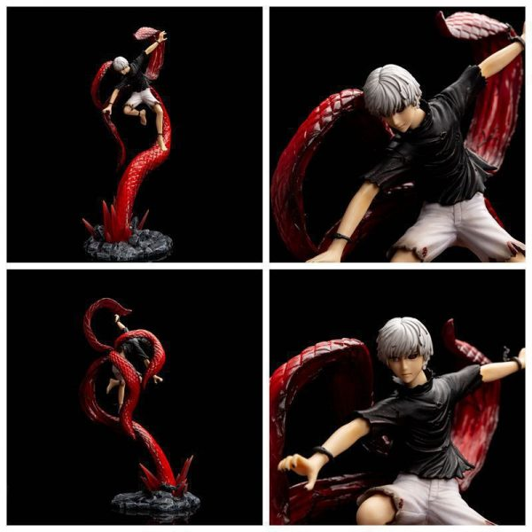 Japan Anime Tokyo Ghoul Kaneki Ken Fight Ver Collection Action Figure Toys 2 - Tokyo Ghoul Merch Store