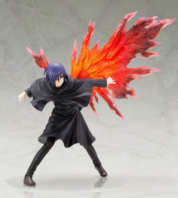 NEW hot 26cm Touka Kirishima Tokyo Ghoul generation of dark Action figure toys doll collection Christmas 2 - Tokyo Ghoul Merch Store