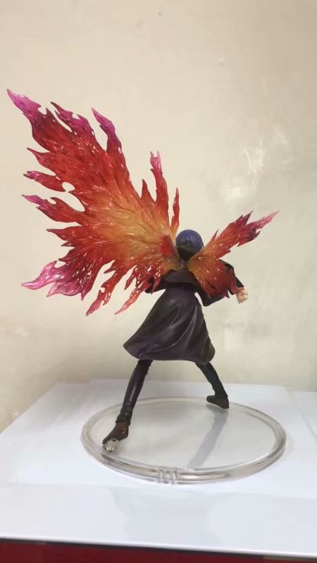 NEW hot 26cm Touka Kirishima Tokyo Ghoul generation of dark Action figure toys doll collection Christmas 3 - Tokyo Ghoul Merch Store