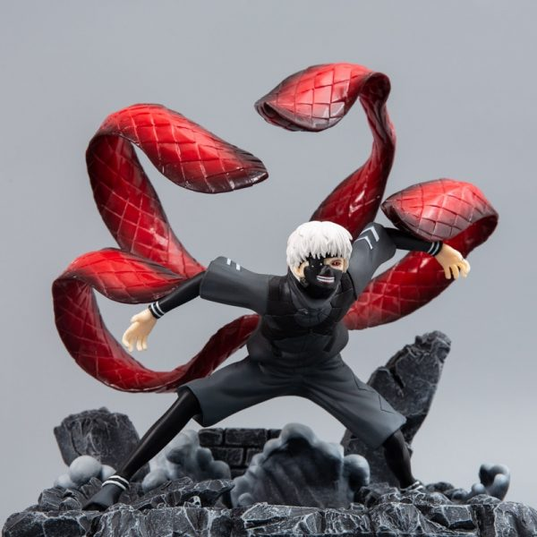Tokyo Ghoul Kaneki Ken Statue Action Figures 260mm Anime Tokyo Ghoul Figurine Collectible Model Toy Diorama 4 - Tokyo Ghoul Merch Store