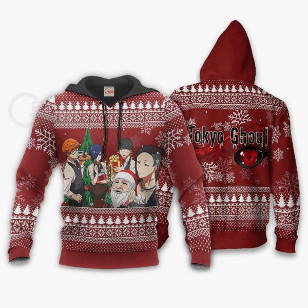 Tokyo Ghoul Ugly Christmas Sweater Anime Xmas Gift Idea VA11Official Tokyo Ghoul Merch
