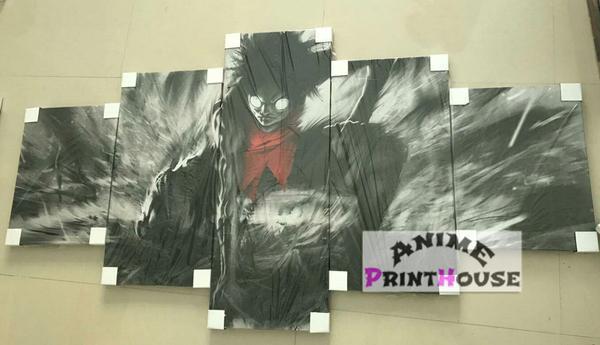 5 Piece Anime Canvas Sample