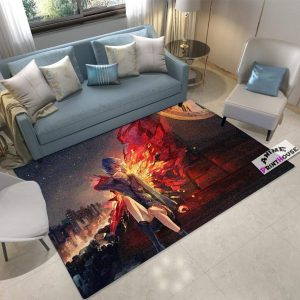 Anime Rug Tokyo Ghoul , Touka on RoofOfficial Tokyo Ghoul Merch