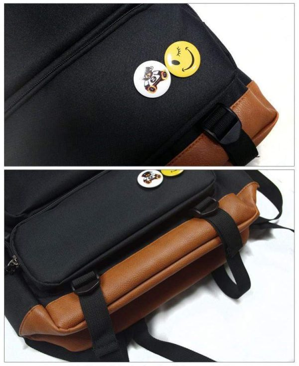 High quality Canvas Tokyo Ghoul Backpack with Glowing FeatureOfficial Tokyo Ghoul Merch
