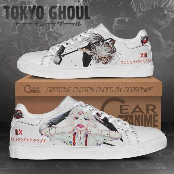 Tokyo Ghoul Juuzou Suzuya Skate ShoesOfficial Tokyo Ghoul Merch