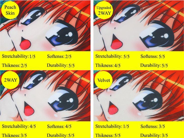 Anime Body Pillow - Dakimakura Material