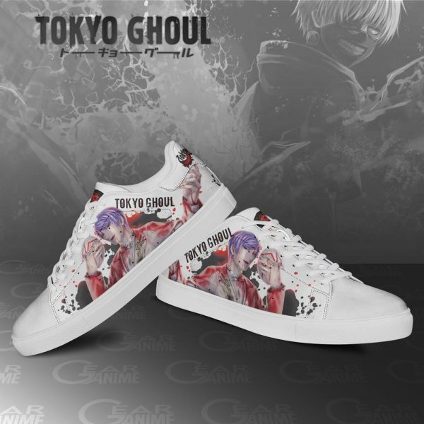 Tokyo Ghoul Shuu Tsukiyama Skate ShoesOfficial Tokyo Ghoul Merch