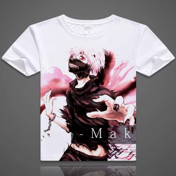 Anime T-Shirt - Tokyo Ghoul characters - 12 designs - BOfficial Tokyo Ghoul Merch
