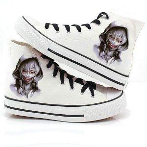 Tokyo Ghoul Kaneki Canvas ShoesOfficial Tokyo Ghoul Merch