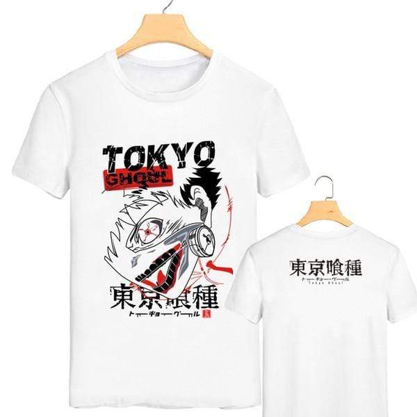 Tokyo Ghoul Anime T-Shirts in 4 ColorsOfficial Tokyo Ghoul Merch