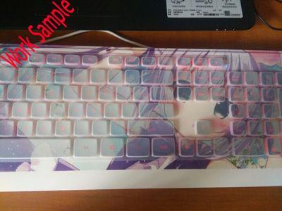 Sample Anime Keyboard