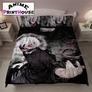 Tokyo Ghoul Bed Set, Sheet, Blanket | 70 Designs |A3Official Tokyo Ghoul Merch