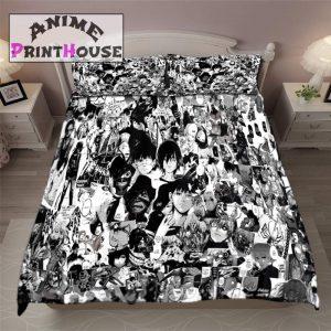 Tokyo Ghoul Blanket & Bed Set, Manga DesignOfficial Tokyo Ghoul Merch