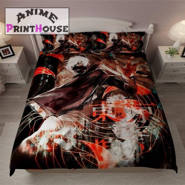 Tokyo Ghoul Blanket, Bedding Set & Covers | Kaneki KenOfficial Tokyo Ghoul Merch