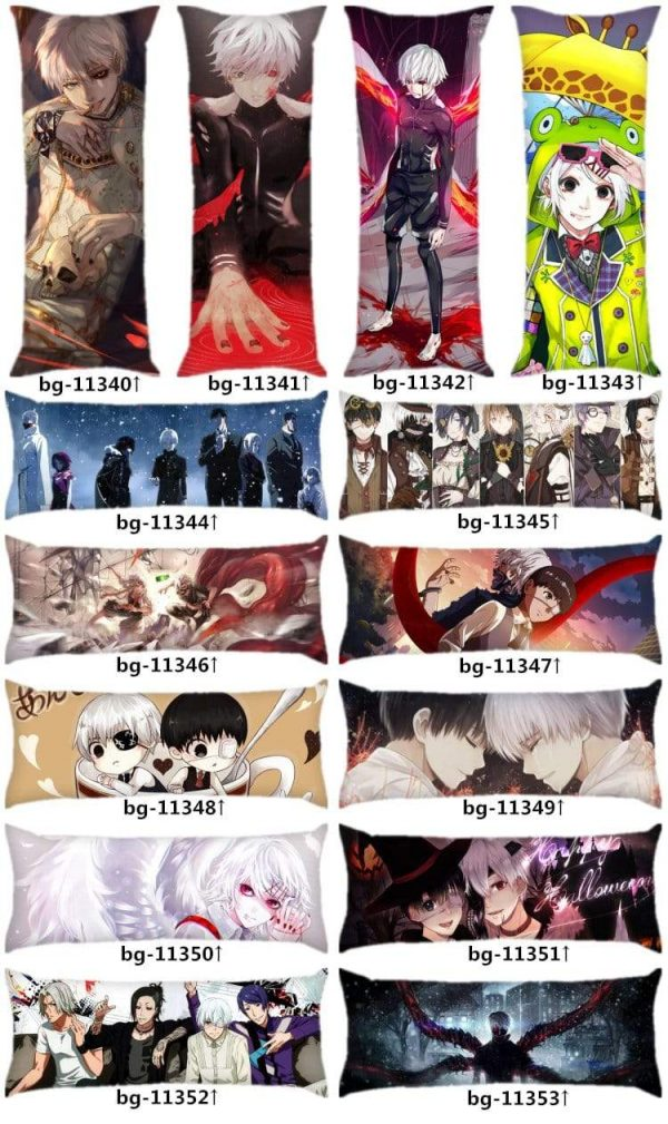 Touka Body Pillow, Tokyo Ghoul Anime DakimakuraOfficial Tokyo Ghoul Merch