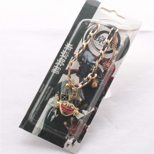 Tokyo Ghoul Bracelet with Alloy & LeatherOfficial Tokyo Ghoul Merch