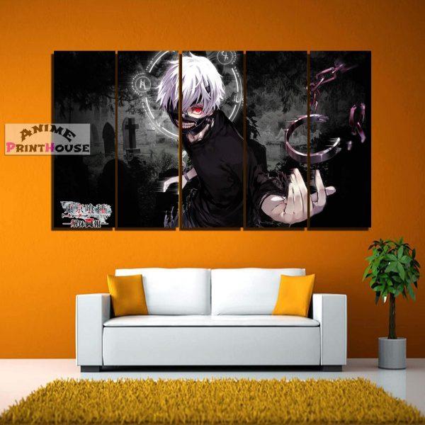 Tokyo Ghoul Canvas Art Wall Decor | Kaneki Ken 1Official Tokyo Ghoul Merch