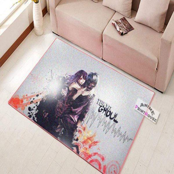 Tokyo Ghoul Kaneki & Touka CarpetOfficial Tokyo Ghoul Merch