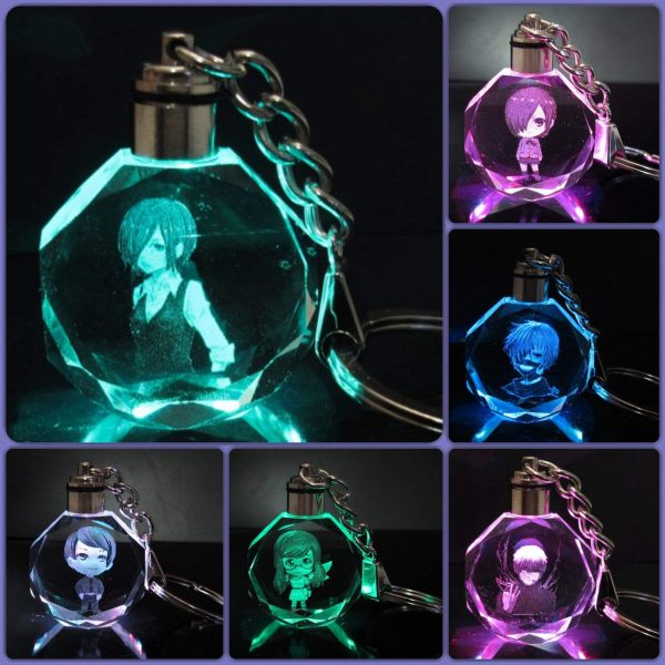 Tokyo Ghoul LED Key chain Collection with Gift BoxOfficial Tokyo Ghoul Merch
