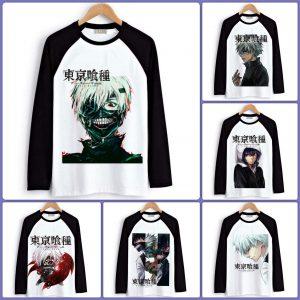 Tokyo Ghoul Long Sleeve T-Shirts| Men & Women - 6 DesignsOfficial Tokyo Ghoul Merch