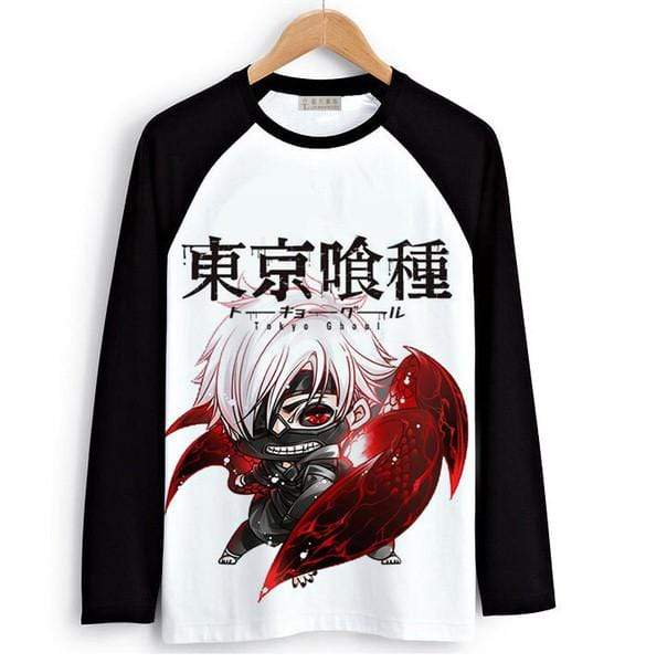Tokyo Ghoul Long Sleeve T-Shirts  Men & Women - 6 DesignsOfficial Tokyo Ghoul Merch