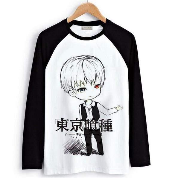 Tokyo Ghoul Long Sleeve T-Shirts  Men & Women - 6 Designs   BOfficial Tokyo Ghoul Merch