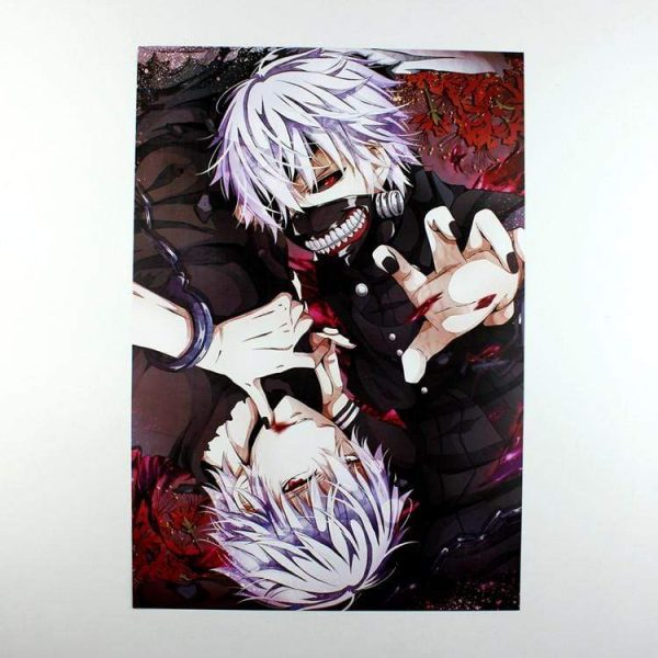 Conditional Free Gift | Tokyo Ghoul Posters | 8 Pieces!Official Tokyo Ghoul Merch