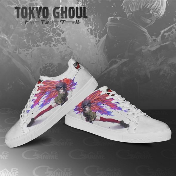 Tokyo Ghoul Touka Kirishima Skate ShoesOfficial Tokyo Ghoul Merch