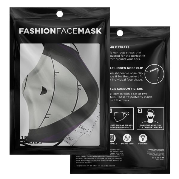 Eto Mask Tokyo Ghoul Premium Carbon Filter Face MaskOfficial Tokyo Ghoul Merch
