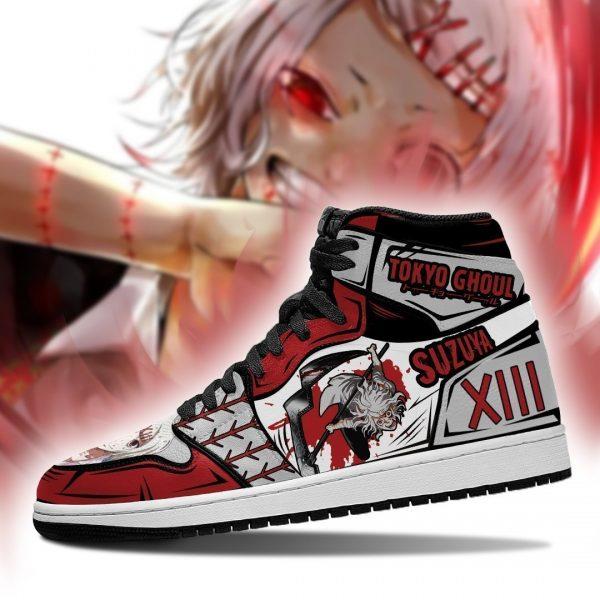 Juuzou Suzuya Jordan Sneakers Custom Tokyo Ghoul Anime Shoes MN05Official Tokyo Ghoul Merch