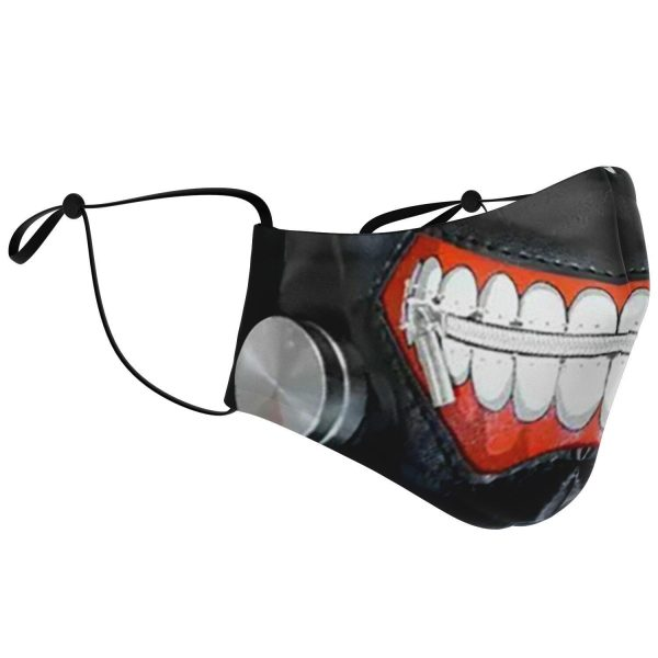kanekis mask v1 premium carbon filter face mask 213277 1 - Tokyo Ghoul Merch Store