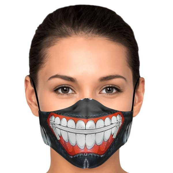 kanekis mask v1 premium carbon filter face mask 634369 1 - Tokyo Ghoul Merch Store