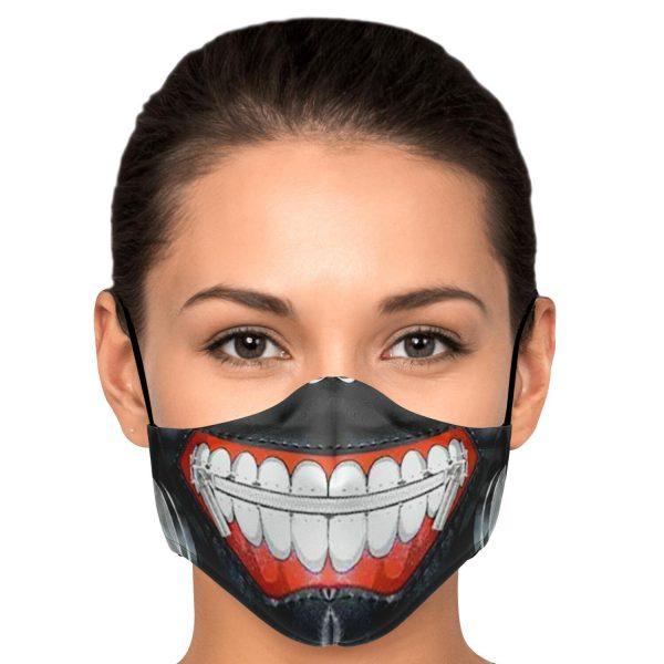 Kaneki's Mask V1 Tokyo Ghoul Premium Carbon Filter Face MaskOfficial Tokyo Ghoul Merch