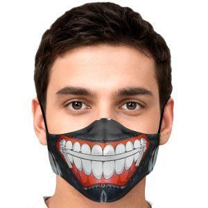 kanekis mask v1 premium carbon filter face mask 840456 1 - Tokyo Ghoul Merch Store