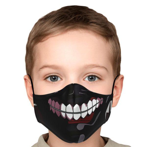 kanekis mask v2 premium carbon filter face mask 557500 1 - Tokyo Ghoul Merch Store