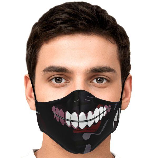 kanekis mask v2 premium carbon filter face mask 607662 1 - Tokyo Ghoul Merch Store
