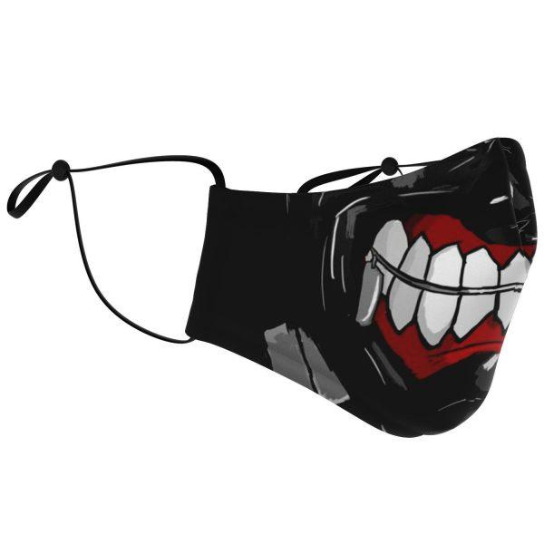 Kaneki's Mask V3 Tokyo Ghoul Premium Carbon Filter Face MaskOfficial Tokyo Ghoul Merch