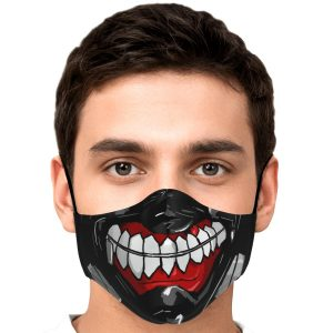 kanekis mask v3 premium carbon filter face mask 316304 1 - Tokyo Ghoul Merch Store
