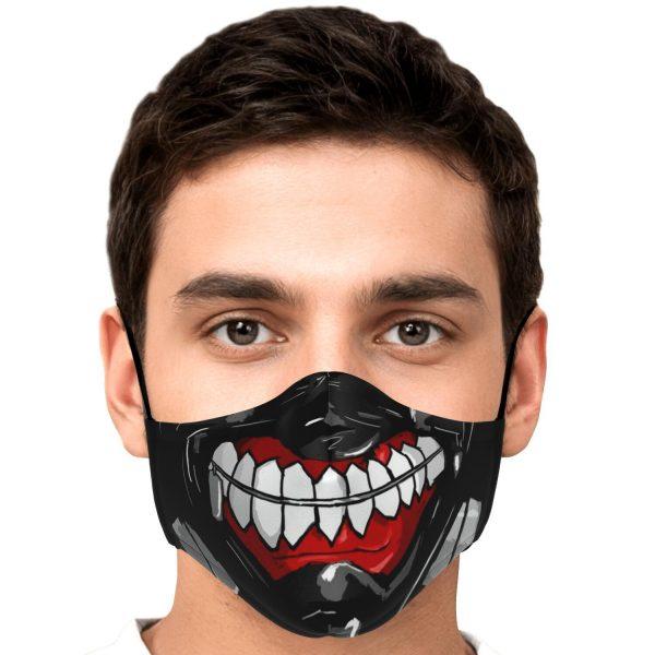 kanekis mask v3 premium carbon filter face mask 316304 1 - Tokyo Ghoul Merch Store