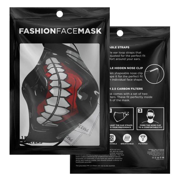 kanekis mask v3 premium carbon filter face mask 386376 1 - Tokyo Ghoul Merch Store